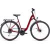 Cube Touring EXC - Vélo de trekking - Easy Entry rouge